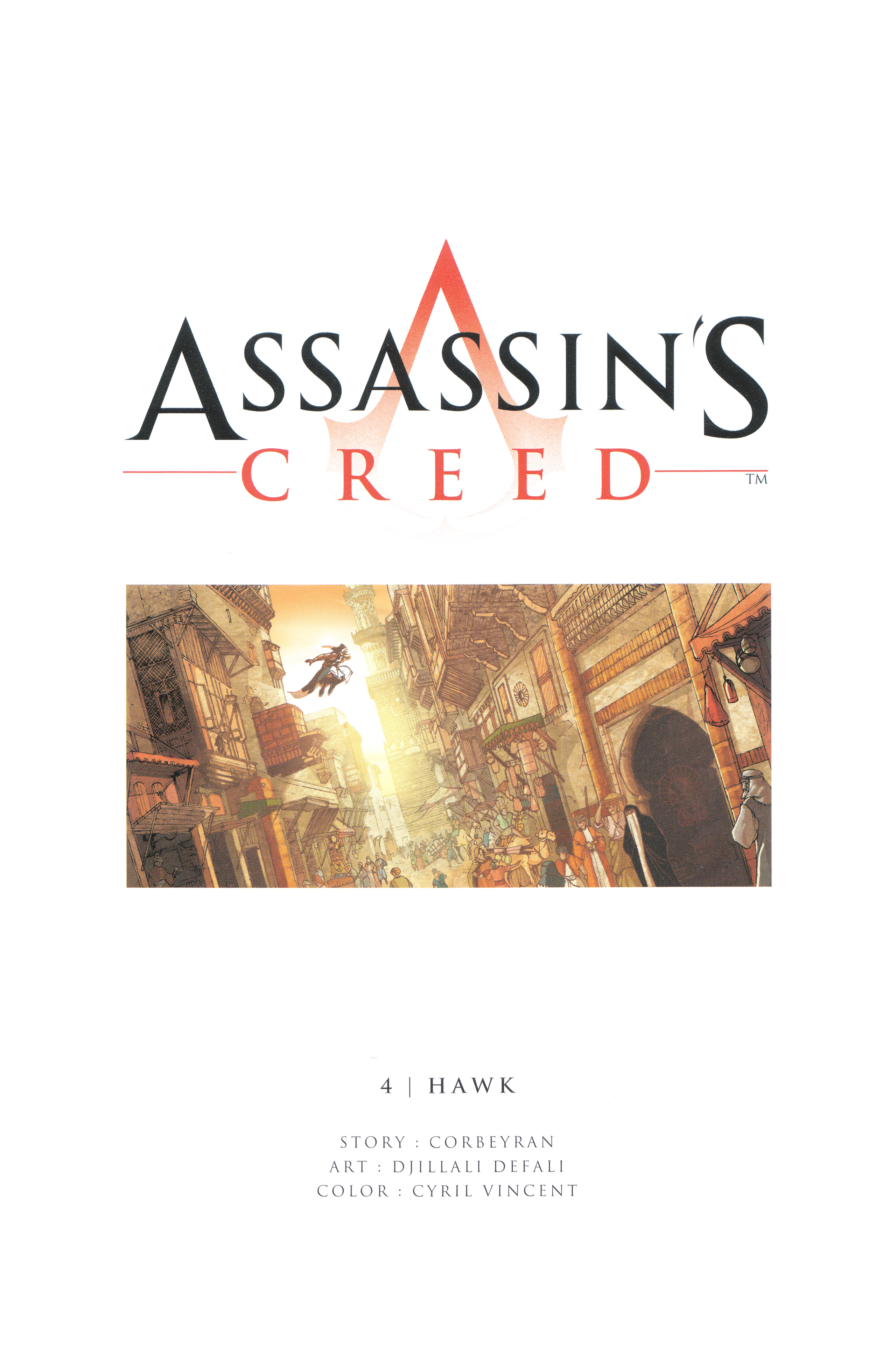 Read online Assassin's Creed (2012) comic -  Issue #4 - 2