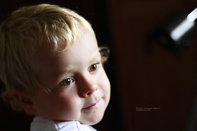 Ritratto di bambino con il Canon EF 50mm f/1.8 II a F:1.8