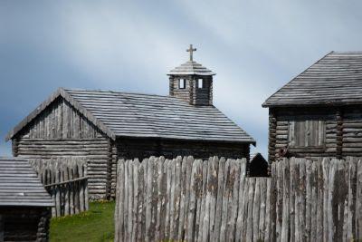 Fuerte Bulnes (Fort Bulnes), Punta Arenas, Chile.