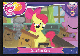 My Little Pony Call of the Cutie Series 3 Trading Card