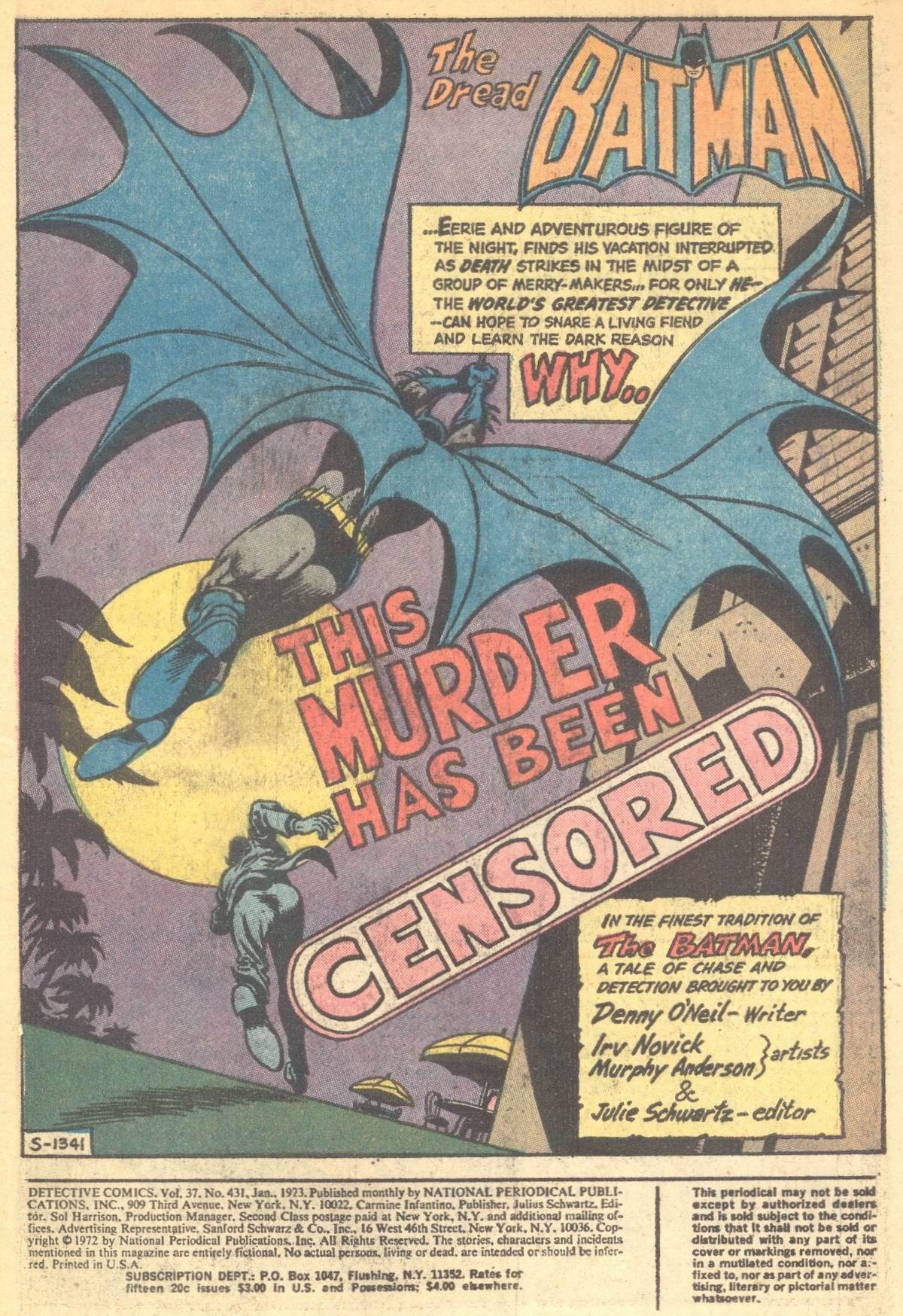 Detective Comics (1937) 431 Page 2