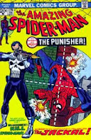 Amazing Spider-Man #129 1st appearance of Punisher comic cover
