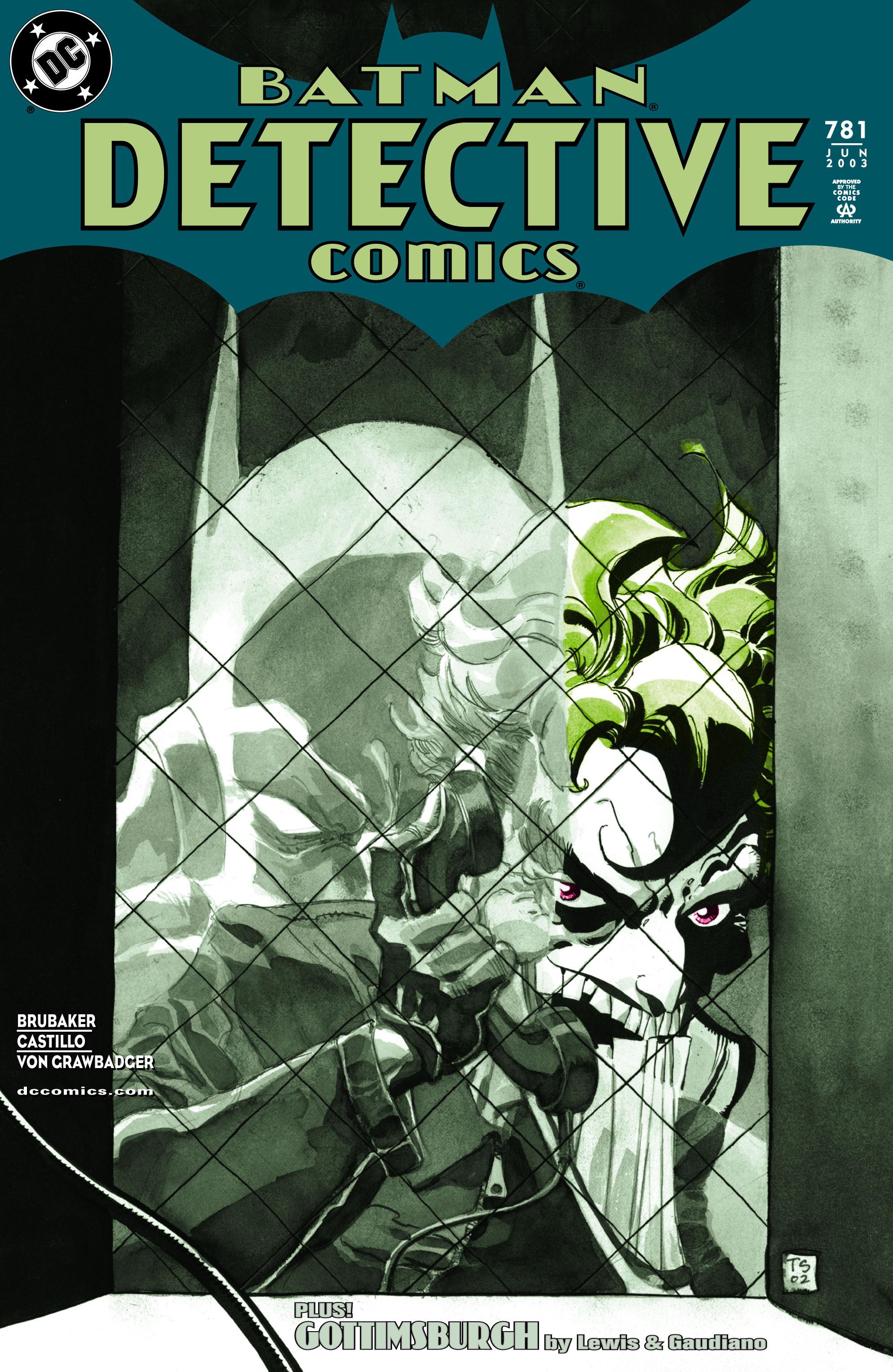 Detective Comics (1937) 781 Page 1