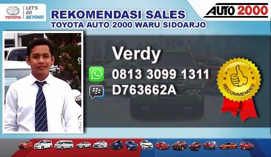 Rekomendasi Sales Toyota Auto 2000 Waru Sidoarjo Surabaya