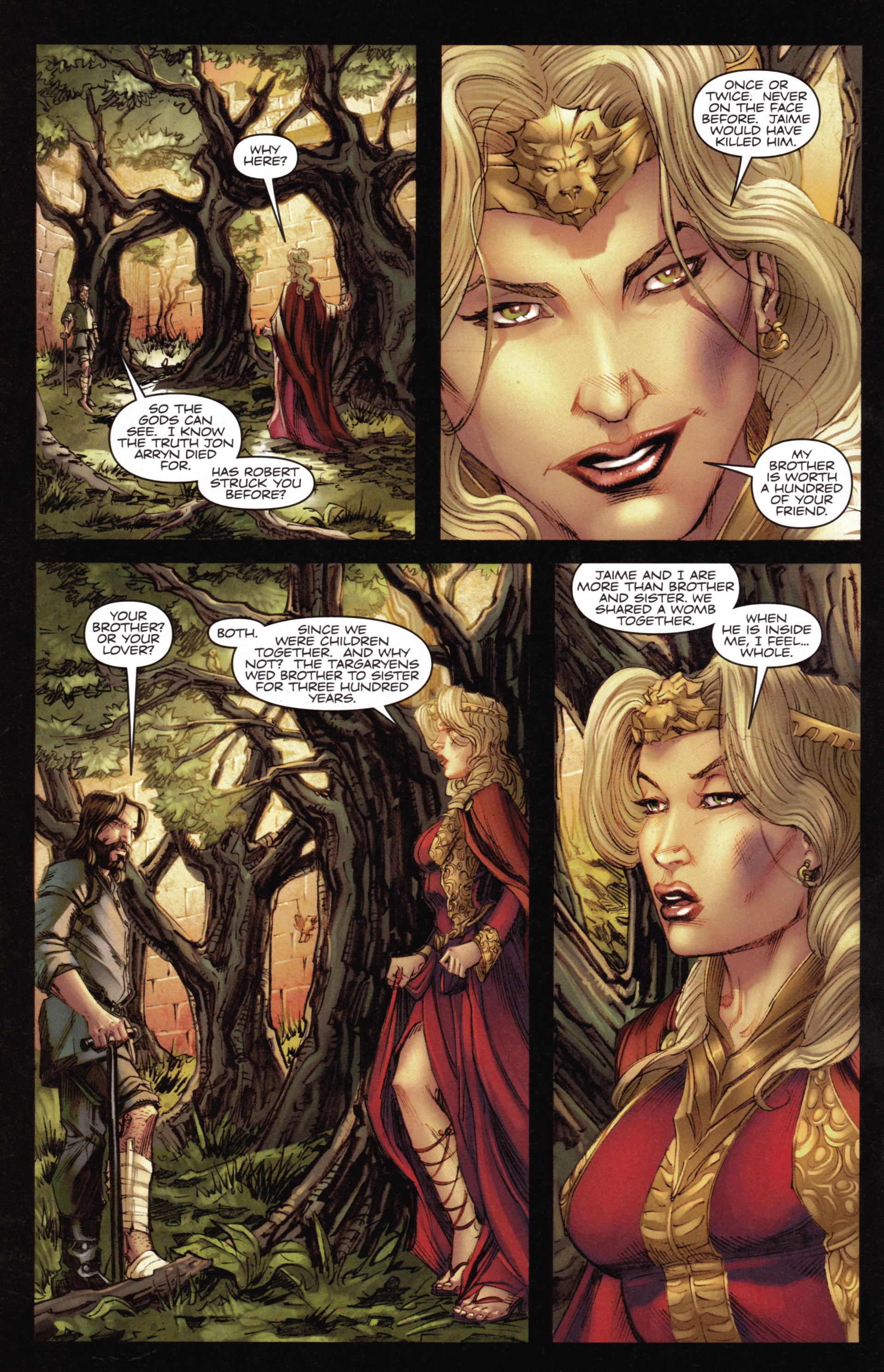 Read online A Game Of Thrones comic -  Issue #14 - 28