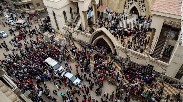 ISIS Bertanggung Jawab Atas Pengeboman di Gereja, Egypt