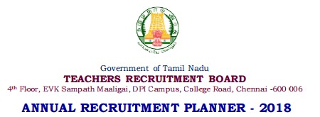TNTRB-3030 Annual Planner 2018 Notification - Apply Online