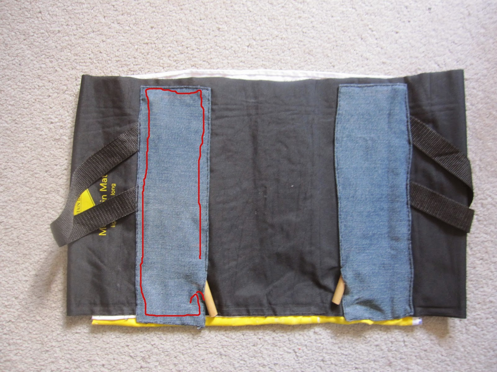Little Notes From Heather And Martin Diy Sleeping Mat Pad