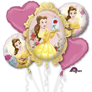 Beauty and the Beast Balloon Bouquet