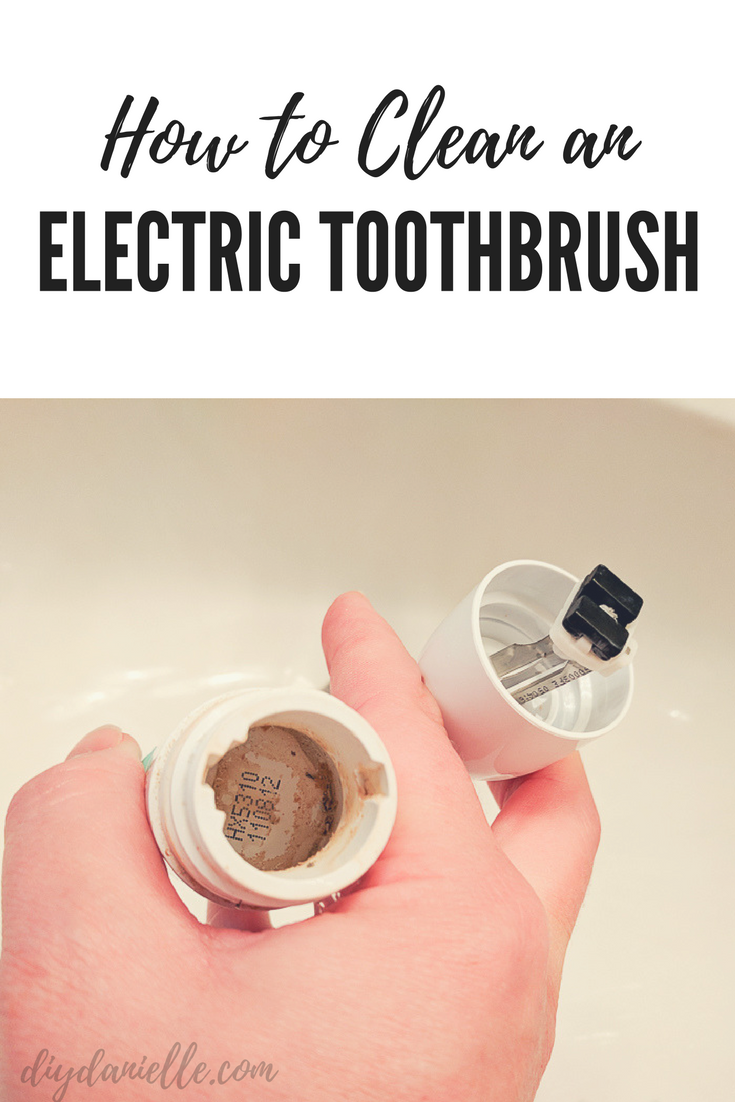 Is your toothbrush hiding mold? Learn how to clean your electric toothbrush.