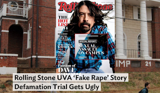 Rolling Stone UVA 'Fake Rape' Story Defamation Trial Gets Ugly