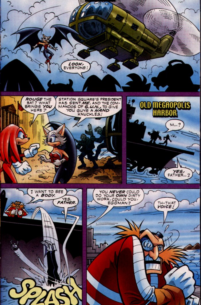 Read online Sonic The Hedgehog comic -  Issue #132 - 16