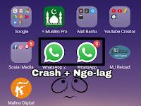 """Whatsapp anda """" Nge-lag """", Ini Solusinya !"""