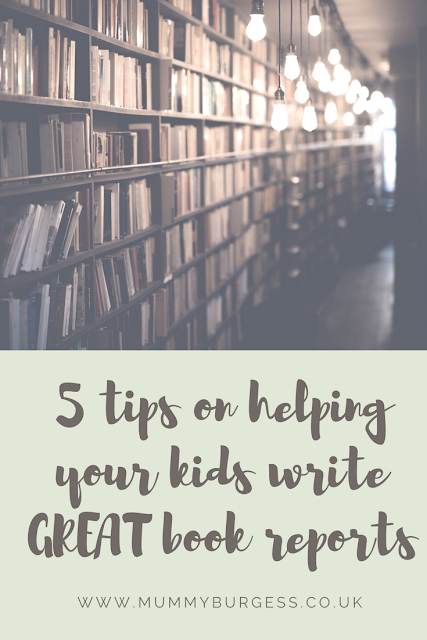 tips on how to write a good book report
