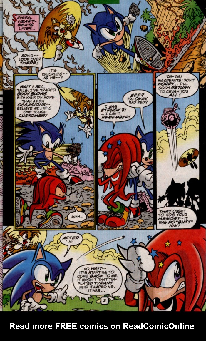Read online Sonic The Hedgehog comic -  Issue #83 - 4