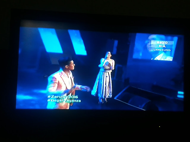 Zarul Umbrella Duet Marsha Gegar Vaganza Minggu 7 2016