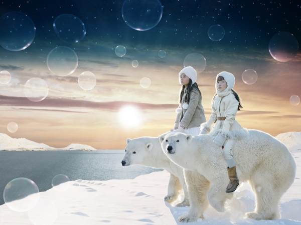"Helena Blomqvist, ""The Arctic Ocean"", 2017."