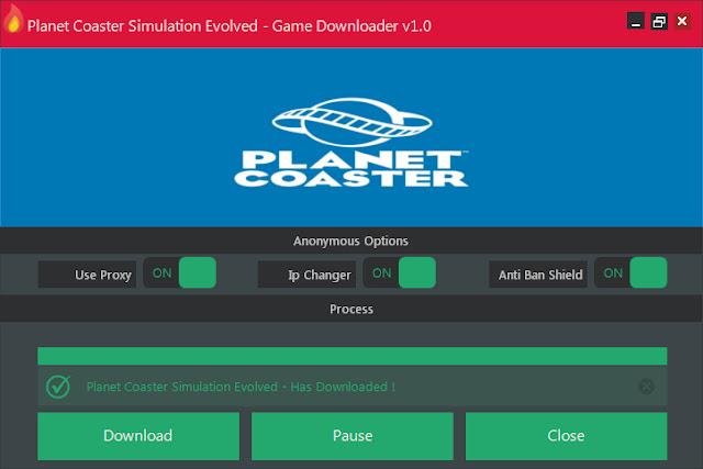 Planet Coaster Simulation Evolved - Game Downloader v1.0