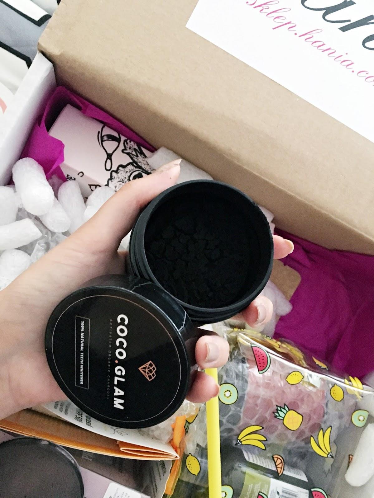 CocoGlam - wybielająca pasta do zębów opinie
