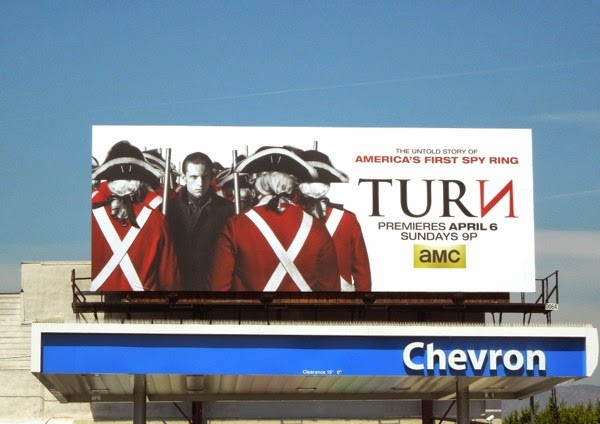 Turn series launch billboard