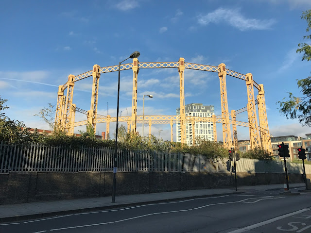 Gas holders, Imperial Gasworks, Imperial Wharf, London