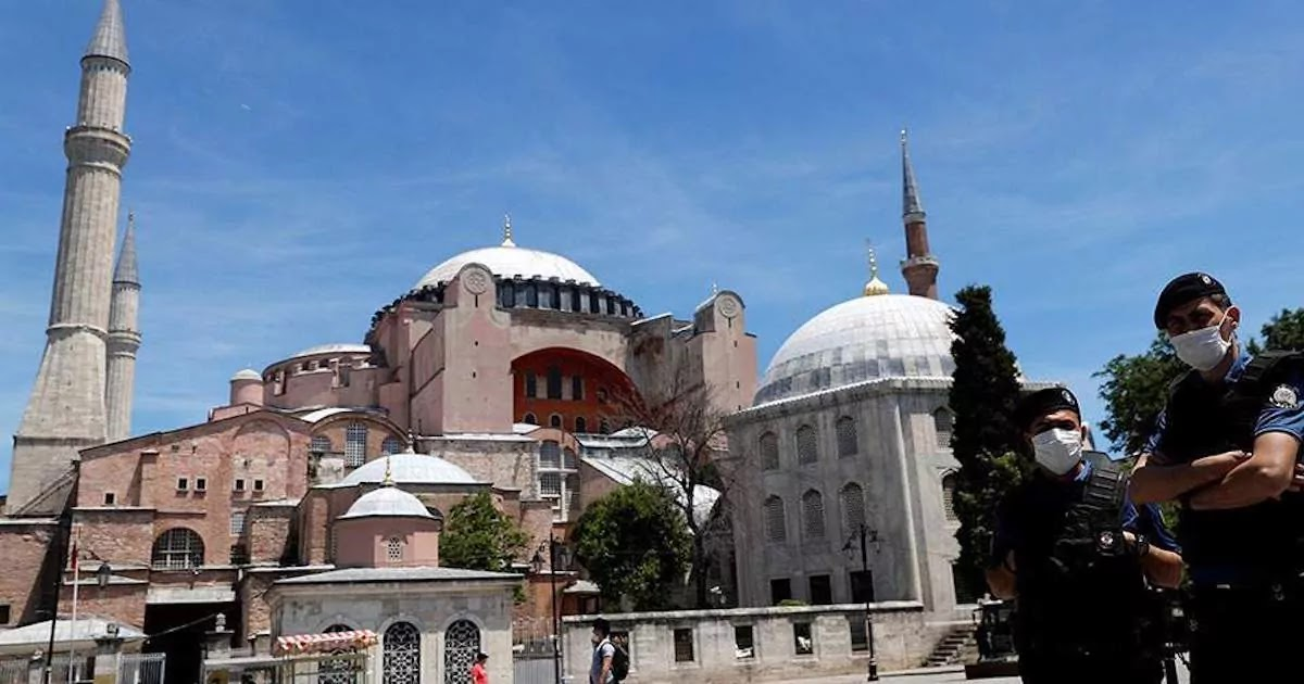 Law Professor Argues That The Re-Designation Of Hagia Sofia As A Mosque Is A Violation Of International Human Rights Laws