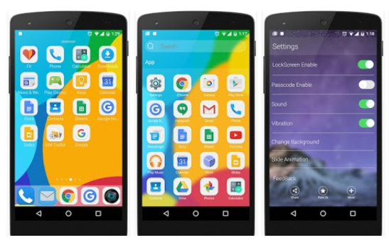 OS 9 Launcher QHD for Android APK Download