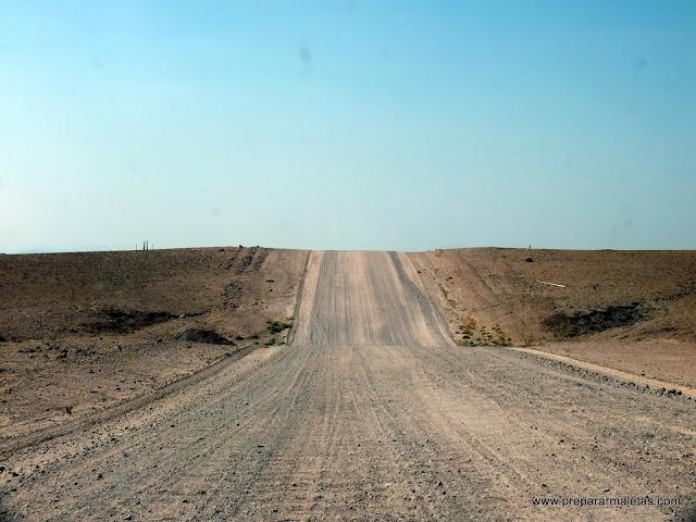 caminos de tierra por namibia
