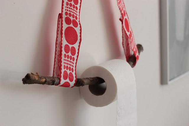 dérouleur papier toilette à faire soi même home made diy