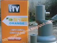 Lnb Ku-band Itv Orange