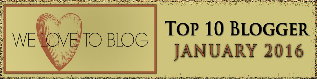 Top Blogger January 2016