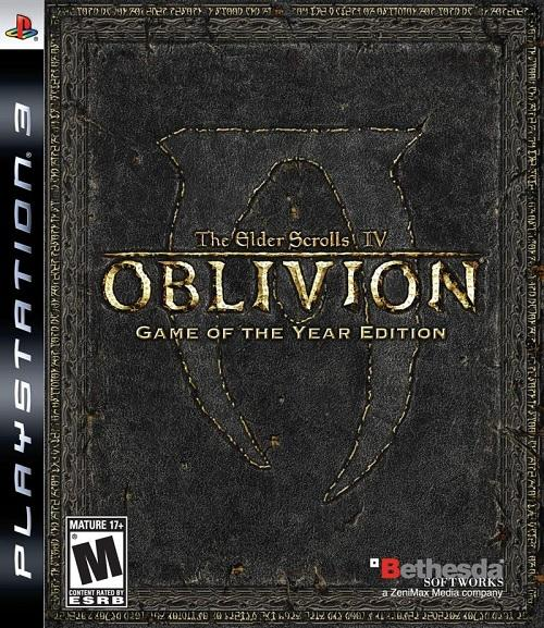 The Elder Scrolls IV Oblivion GOTY PAL - The Elder Scrolls IV Oblivion PS3