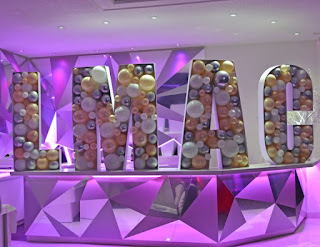 Custom 3D Mosaic Balloon Letters