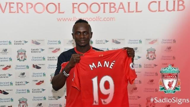 OFICIAL: Sadio Mané é o novo reforço do Liverpool