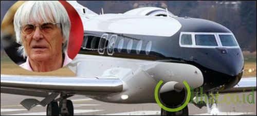 Pesawat Jet Gulfstream G650 - Bernie Ecclestone