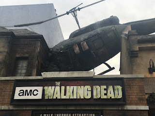 The Walking Dead Walk Through Attraction Entrance