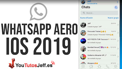 Descargar Whatsapp IOS Aero 2019 Ultima Version