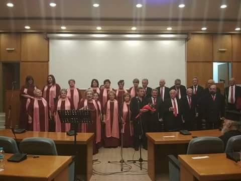 Η Χορωδία του Πολιτιστικού Συλλόγου Άργους ΤΕΛΕΣΙΛΛΑ στην 9η Χορωδιακή Συνάντηση Πύργου