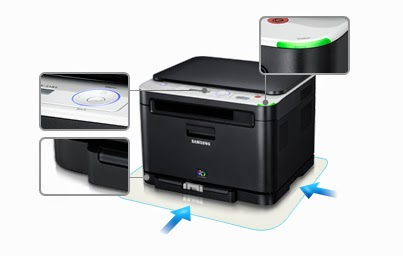 Fast in addition to Robust Color Laser Printer to lucifer inwards whatever surround Samsung CLX-3185 Printer Driver Downloads