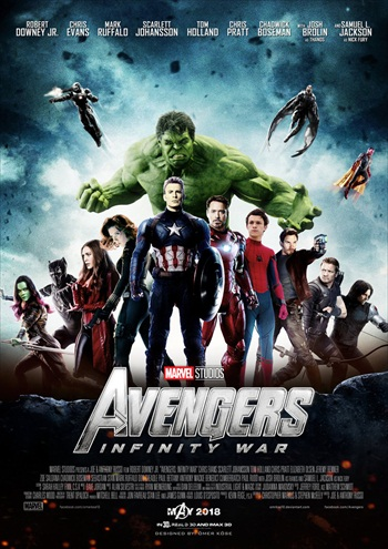 Avengers Infinity War 2018 Dual Audio Hindi 480p HDTS 400MB