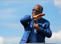 1 - No-nonsense Tz President JOHN MAGUFULI fires police boss in public and then forgives him after prayers (VIDEO)