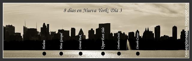 Itinerario día 3 de 8 días en Nueva York