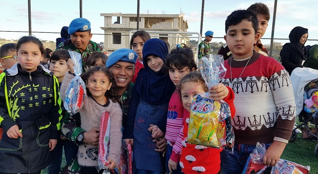 Kontingen Garuda Gelar Perayaan Children's Day di Lebanon