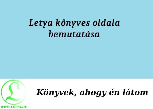 Letya könyves oldala bemutatása