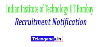 Indian Institute of Technology IIT Bombay Recruitment Notification 2017