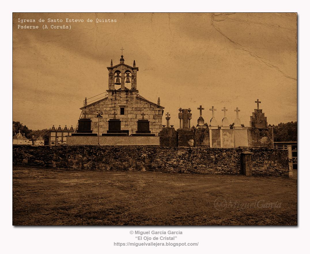 Igrexa de Santo Estevo de Quintas, Paderne (A Coruña)
