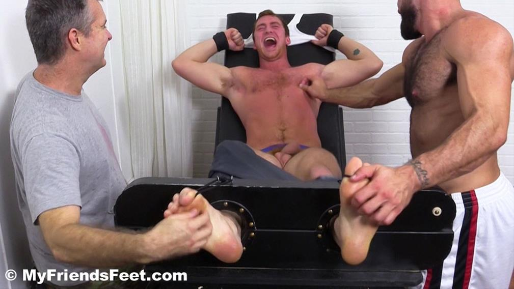 Connor Maguire Tickled Naked MyFriendsFeet