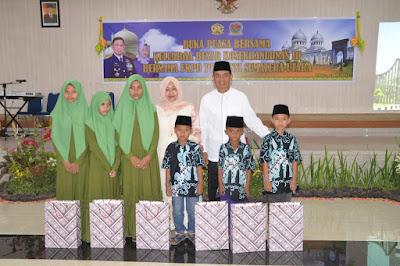Buka Puasa Bersama Keluarga Kosekhanudnas III Bersama Forkopimda Provinsi Sumut