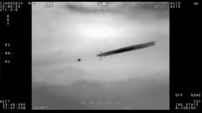 Chilean government and the air-force release UFO video with images.