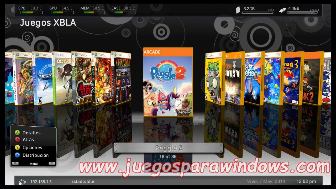 Peggle 2 Xbox 360 Espanol Xbla